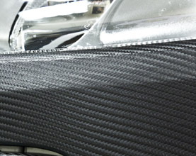 Carbon Fibre Polymeric Detailing Vehicle Wrapping Vinyls