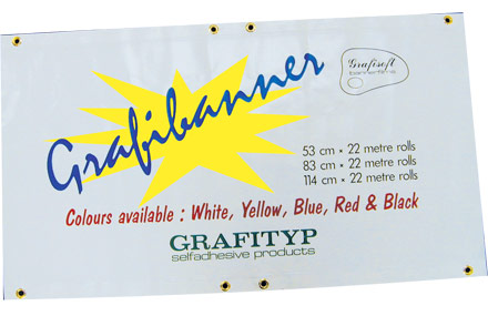 Pre Eyeletted Grafi Banner Material Grafityp Uk Limited