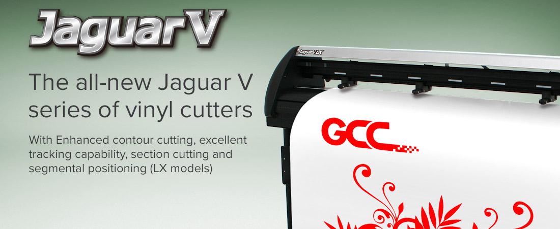 Gcc Jaguar V Vinyl Cutters Grafityp Uk Limited