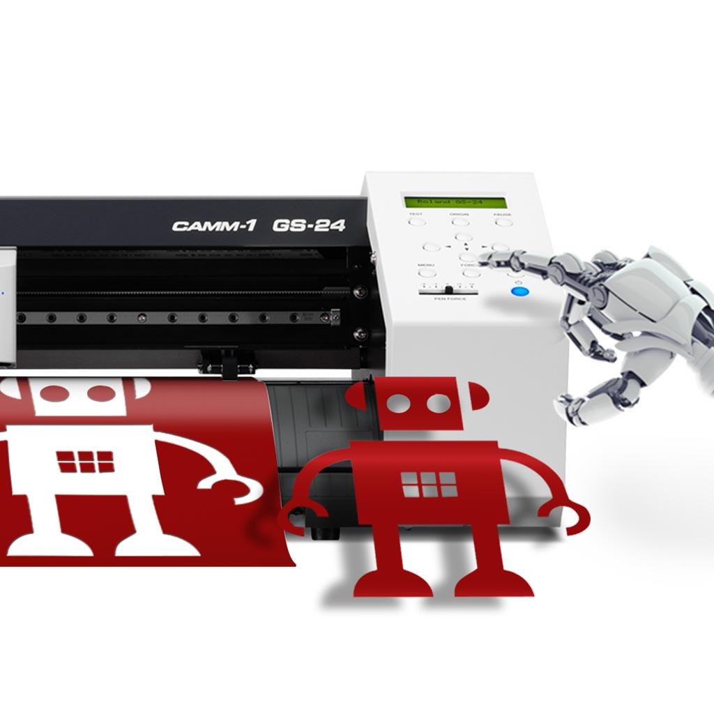 Roland Camm 1 Gs 24 Vinyl Cutter Grafityp Uk Limited
