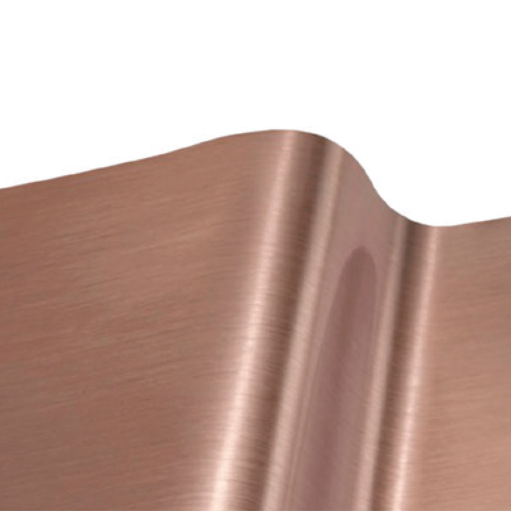 6-RT22 Fine Brushed Rose Gold Outdoor 610mm