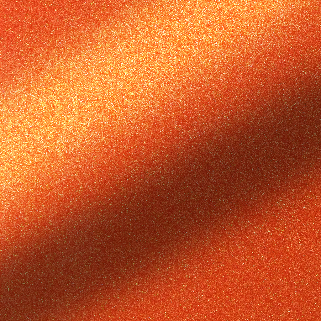 500-Glitter Ember Orange 500mm