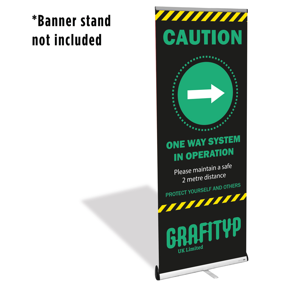 42-DURP Roll Up & Pop Up Matt White Media With Grey Back 440gsm 1070mm x 30m
