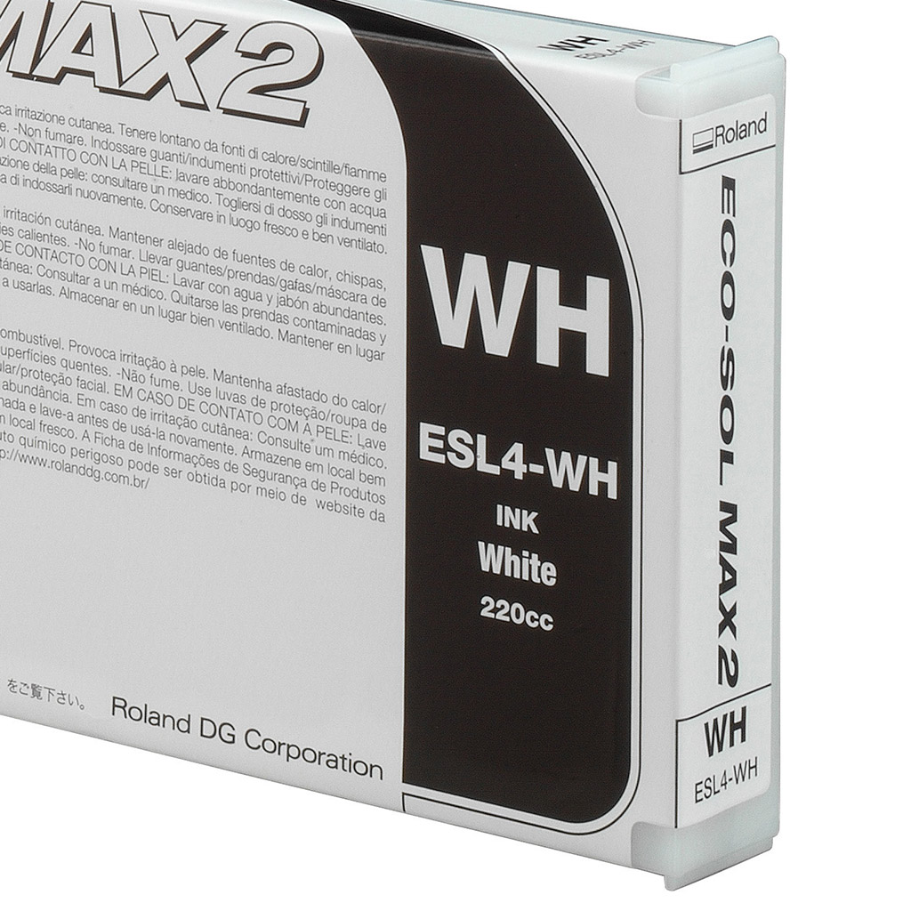 Roland ECO-SOL MAX 2 White 220ml