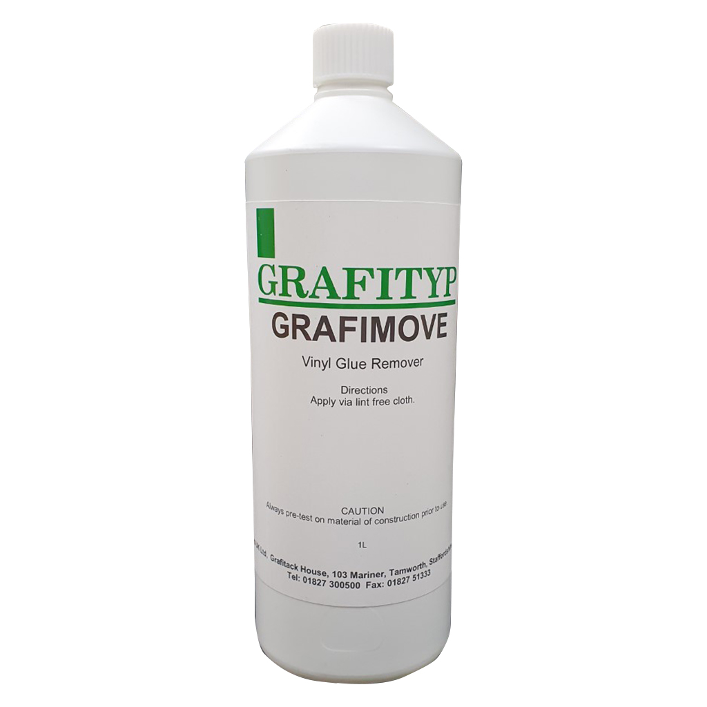 Grafimove Self Adhesive Vinyl Glue Remover Fluid 1 Litre