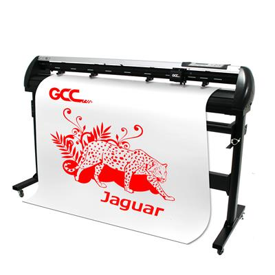 GCC Jaguar V J5-160-P 1600mm Cutting Plotter with Take Up & Stand