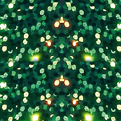 500-DPH6 Holographic Sparkle Green 500mm
