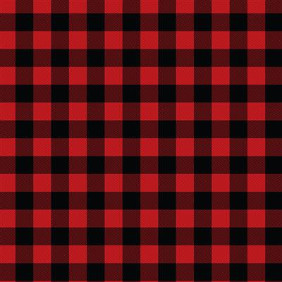 500-EasyPattern Buffalo Plaid Red 456mm x 1 Metre