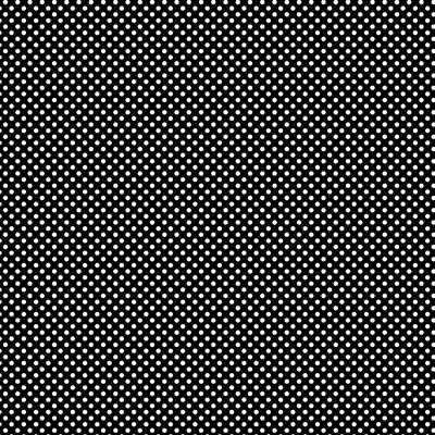 500-EasyPattern Polka Dots White/Black 456mm x 1 Metre