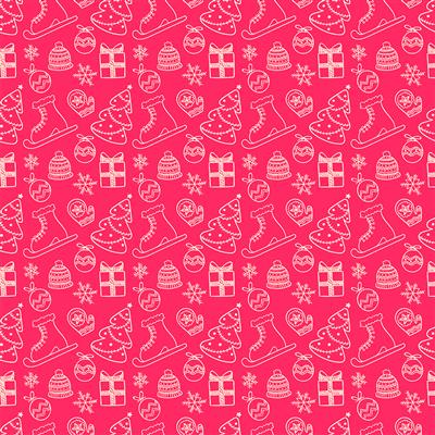 500-EasyPattern Christmas Party 456mm x 1 Metre