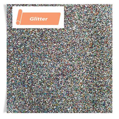 A4 Sheet Siser Glitter 2 Light Multi