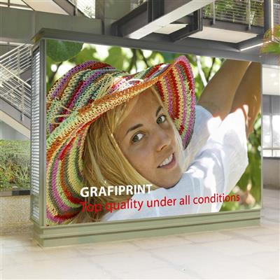 "60-S27-10 Polymeric White Translucent Backlit 75 microns 1525mm (60"") x 10m"