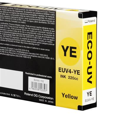 Roland UV 4 Ink Yellow 220ml