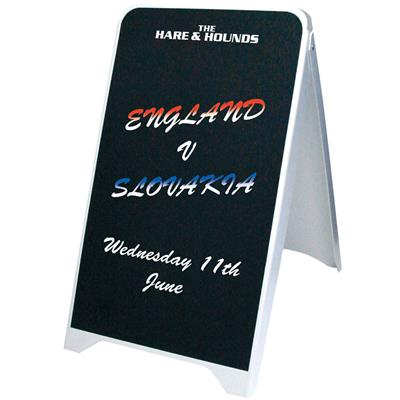 Budget Chalk A-Board 500 x 800mm
