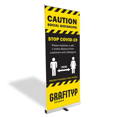 Budget Roll-Up Banner Stand 800mm