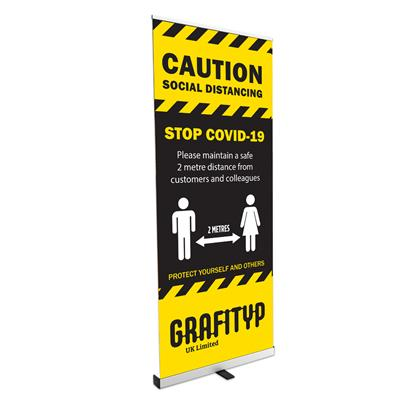 Budget Roll-Up Banner Budget 1000mm