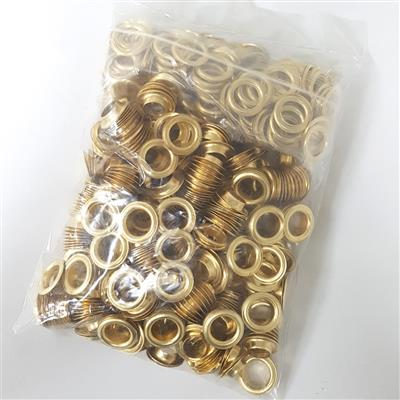 16mm Self-Piercing Eyelets Outdoor (500 pack)